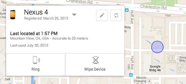 Serviço da Google para rastrear dispositivos Android já está disponível
