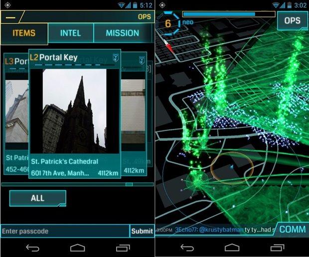 Android – Jogo de realidade aumentada Ingress sai do Beta em 14 de dezembro