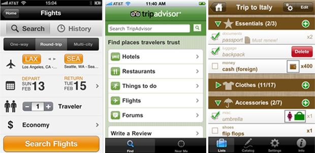 Apps que podem melhorar sua viagem