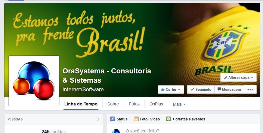 Entramos no clima da copa, vai Brasil!