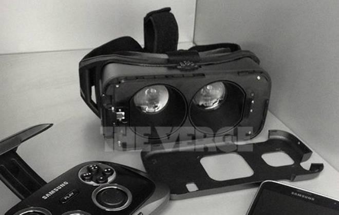 Óculos de realidade virtual da Samsung
