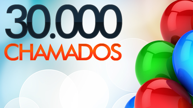 Empresa atinge 30 mil chamados em seu Suporte Online