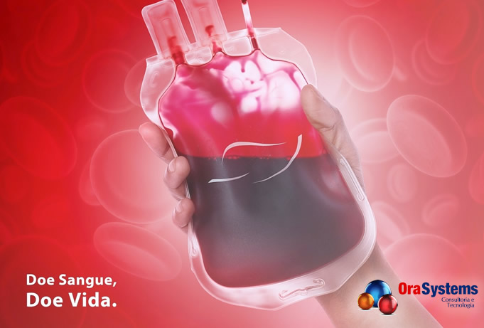 Colaboradores se unem para doar sangue