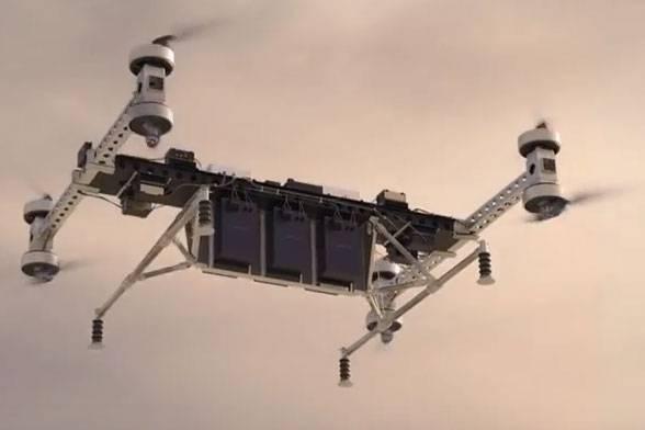 Boeing revela protótipo elétrico não tripulado para carga