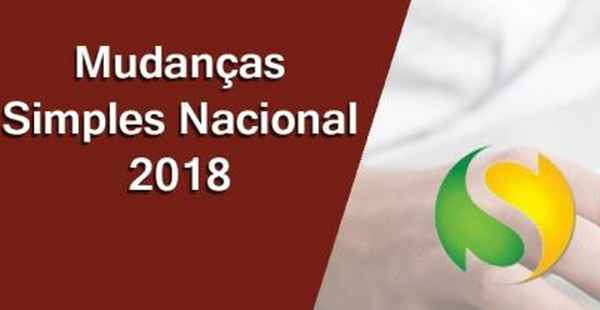 Mudanças Regime Simples Nacional – 2018