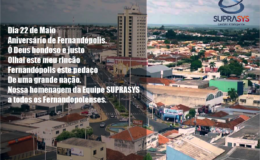 Parabéns Fernandópolis!!!